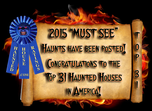 2015 Best Haunted House Ratings - Best Haunted House Awards Announced!