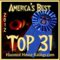 Haunted House Ratings Top 31 Haunted Houses in America