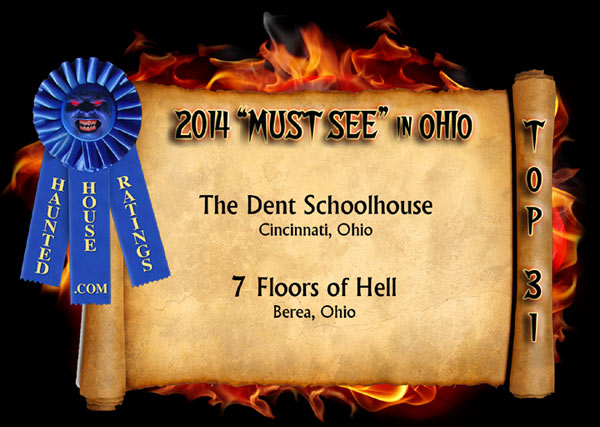 America's Best Haunted House Winners in Ohio